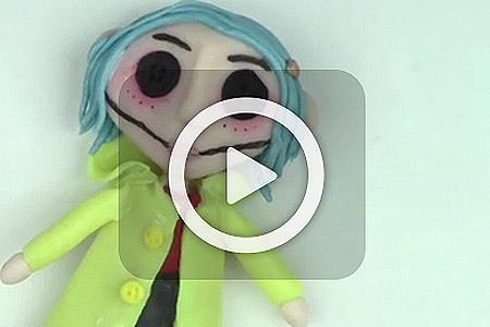 فیلم آموزش عروسک خمیری 3