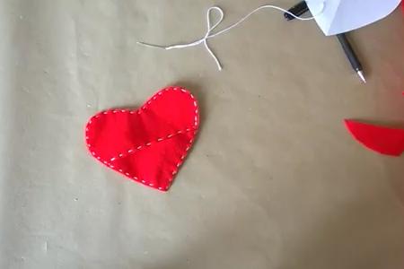 فیلم آموزش دوخت کیف قلب