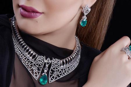 مدل جواهرات Al Sharq Diamonds 10