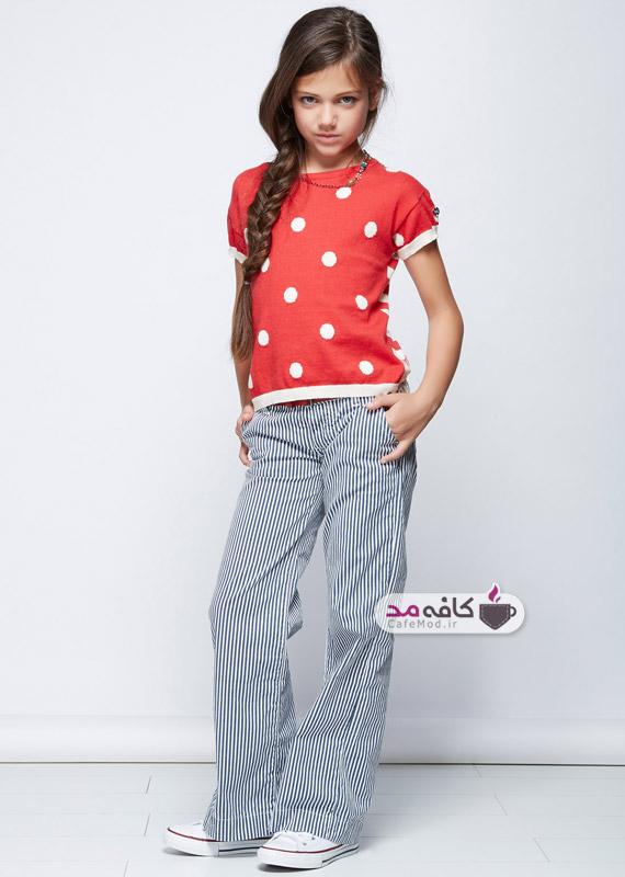 مدل لباس دخترانه بهاره