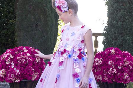 مدل لباس دخترانه مجلسی 11