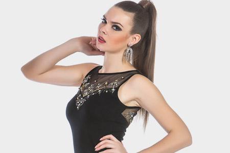 مدل لباس مجلسی زنانه ترک 11