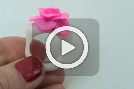 فیلم آموزش ساخت انگشتر خمیری