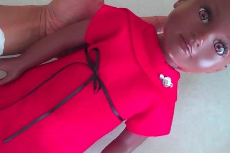 فیلم دوخت لباس برای عروسک