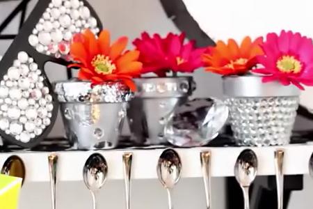 فیلم آموزش تزئین گلدان