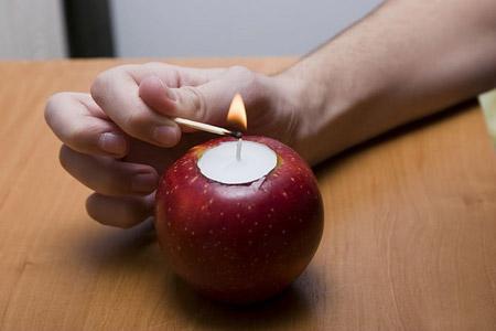 آموزش جاشمعی سیب 2