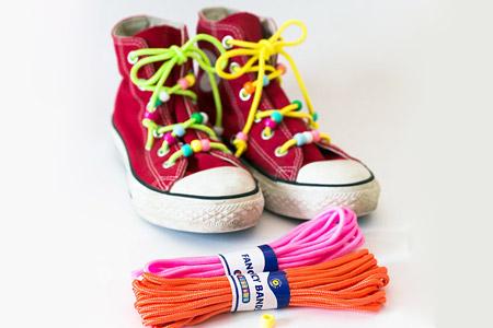 کفش با بند رنگی 2