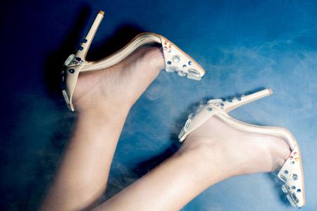 تزئین کفش مهمانی زنانه