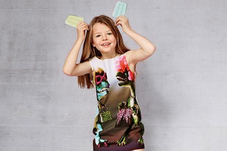 مدل لباس بچگانه Moschino 9