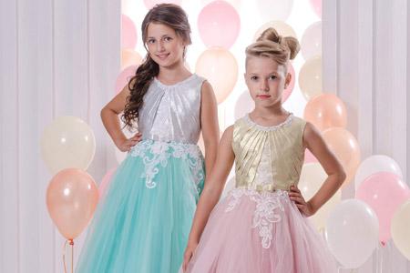 مدل لباس مجلسی دخترانه Nika 11