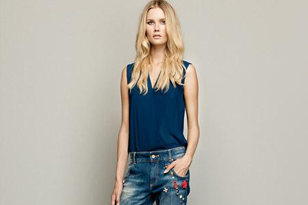 مدل لباس جین زنانه Fracomina