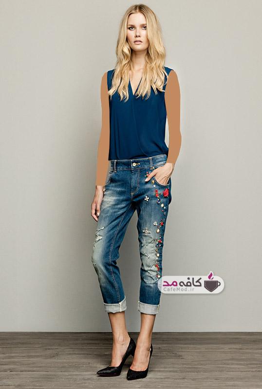 مدل لباس جین زنانه