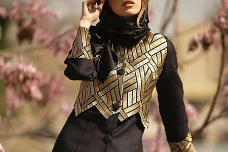 مدل مانتو برند ایرانی Mersedeh 7