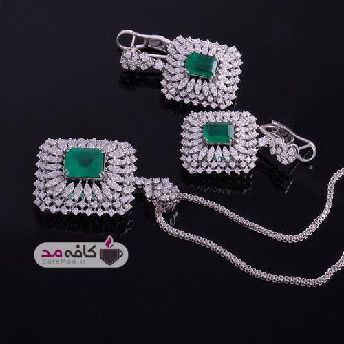 مدل نیم ست جواهر