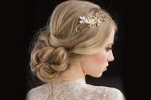 مدل تاج و گل سر عروس