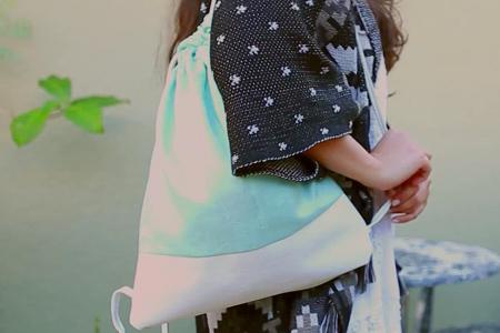 فیلم آموزش دوخت کیف توبره ای