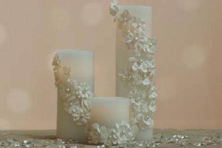 فیلم تزیین شمع عروسی