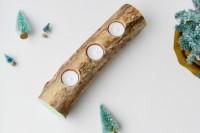 آموزش ساخت جا شمعی چوبی