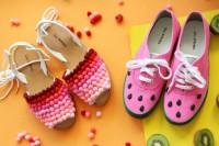 آموزش تزیین و تغییر کفش ساده
