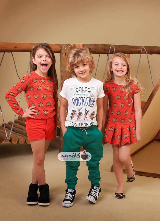 مدل لباس بچه گانه Colcci