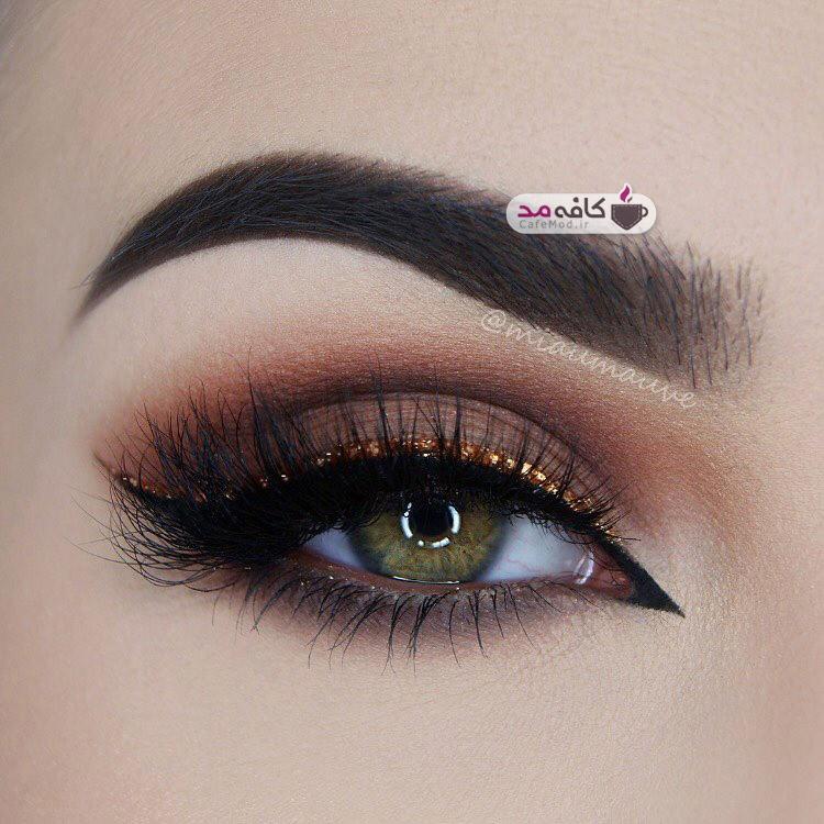 مدل آرایش چشم 2016
