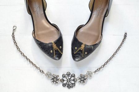کفش با تزئین زیپ 2