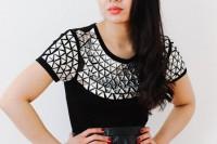 مدل تزئین لباس زنانه