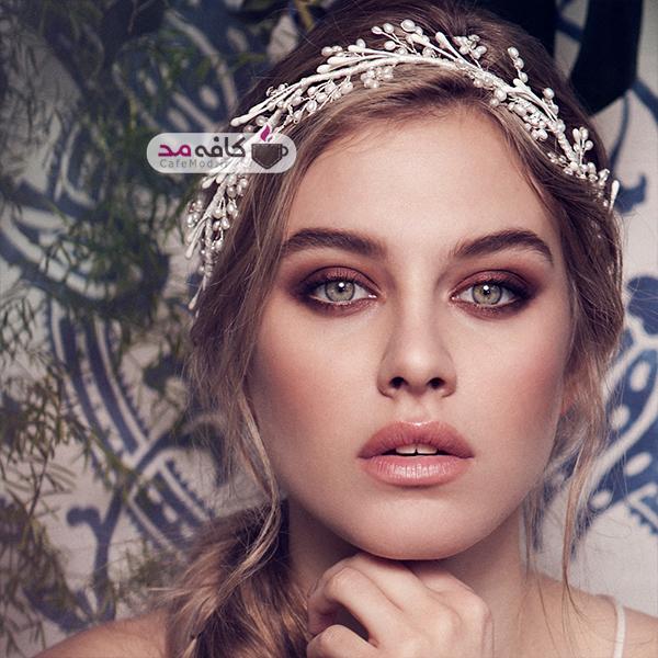 مدل تاج عروس Olivia