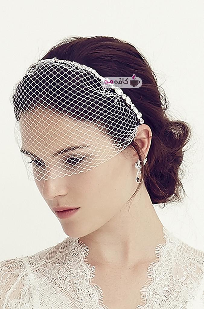 مدل تاج عروس Jenny Packham