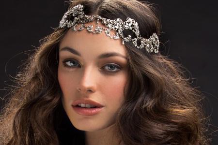 مدل تاج عروس برند Mariaelena 10