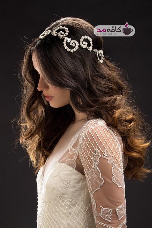 مدل تاج عروس Mariaelena