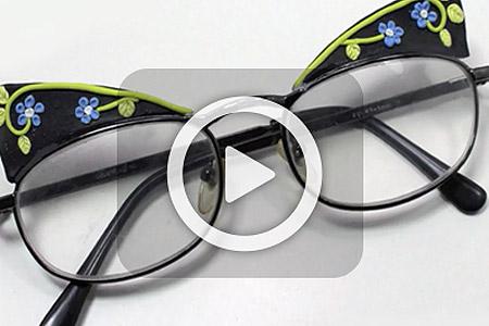فیلم تزیین عینک 2