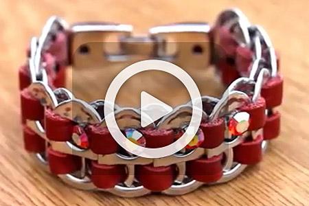 فیلم آموزش ساخت دستبند 1