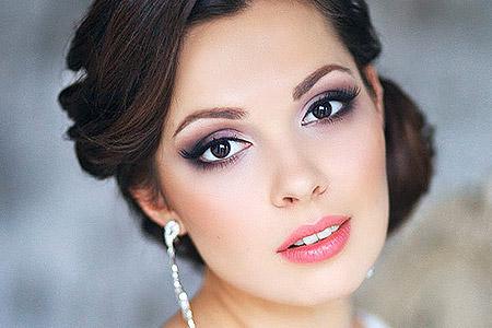 جدیدترین مدل های آرایش عروس 1