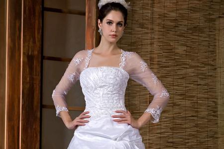 مدل لباس عروس پرنسسی 10