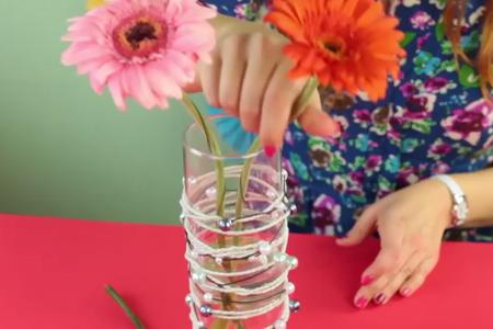 فیلم آموزش ساخت گلدان 2