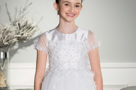 مدل لباس عروس دخترانه Roco 10