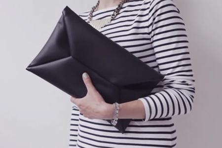 فیلم دوخت کیف چرم دستی