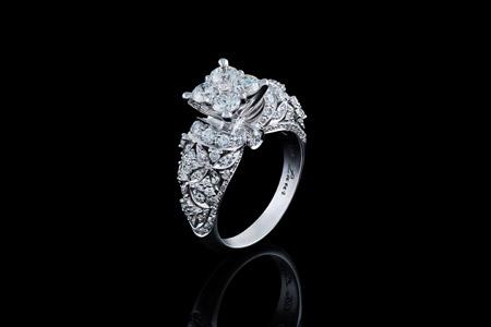 مدل انگشتر عروس 10
