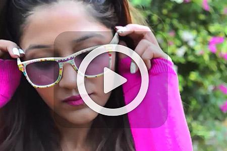 فیلم آموزش تزیین عینک 1