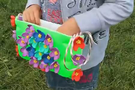 فیلم ساخت کیف با ظرف یکبار مصرف