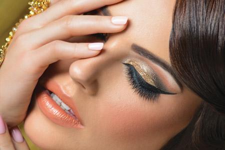 مدل آرایش هندی 11