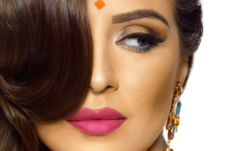 مدل آرایش هندی 12
