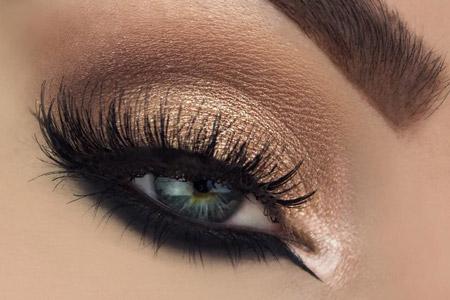 مدل آرایش چشم و لب 11