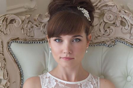 مدل آرایش عروس 2016 10