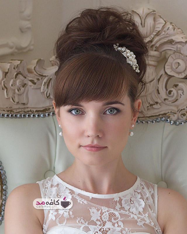 مدل آرایش عروس 2016