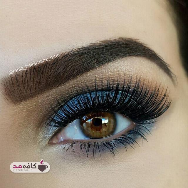 مدل آرایش چشم و سایه چشم