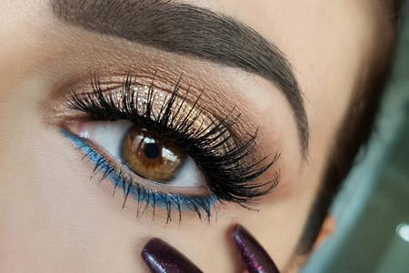 مدل آرایش چشم و سایه چشم 10