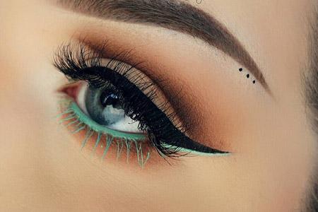 مدل زیبای آرایش چشم