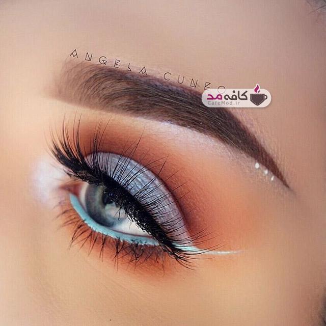 آرایش چشم به سبک نو